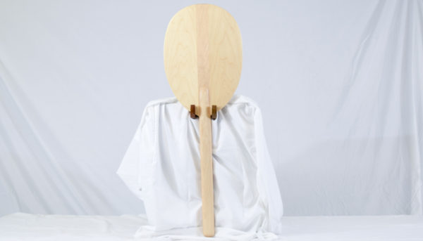 maple outrigger paddle