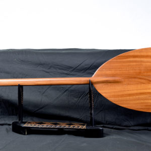 5 foot mahogany wood outrigger paddle