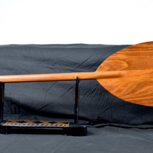 tiger wood outrigger paddle