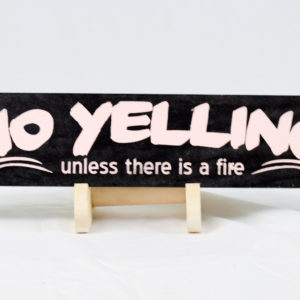 no yelling 2.75x14 black and pink straight
