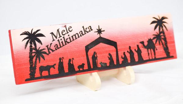 Mele Kalikimaka sign