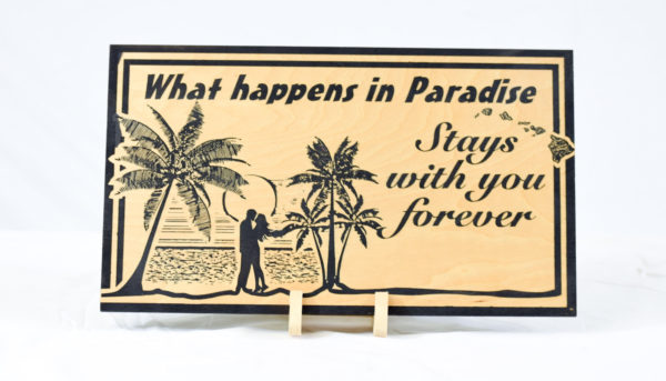 What happens in Paradise stays with you forever straight