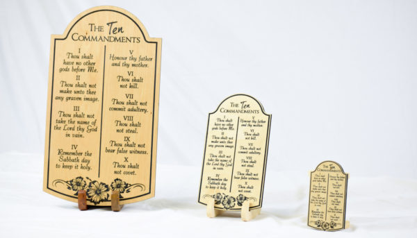 10 commandments tablet
