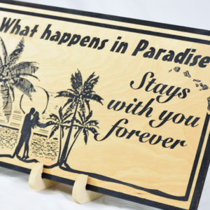 What happens in Paradise stays with you forever