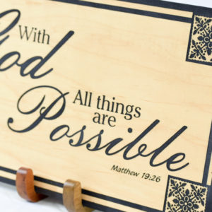 With god all things are possible breadfruit quilted corner